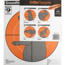 Hoppe's Critter Target Assortment - 20-Pack in See Photo - Closeouts