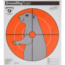 Hoppe's Paper Critter Ground Hog Target - 20-Pack in See Photo - Closeouts