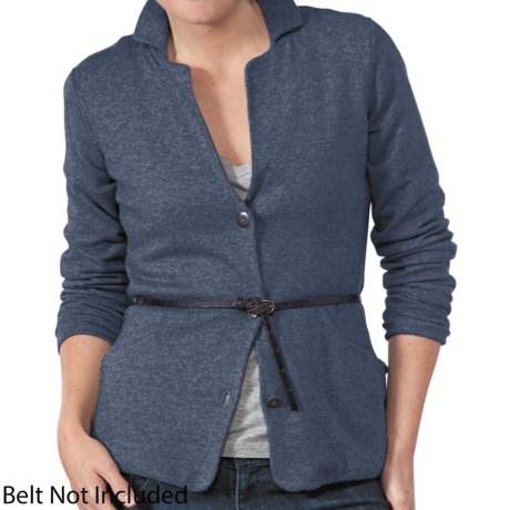 Horny Toad Ablaze Jacket - Jersey Blend (For Women) in Navy Heather