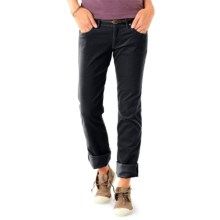 Horny Toad Accord Corduroy Pants (For Women) in Black - Closeouts