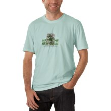 Horny Toad Activewear Wash Less T-Shirt - Short Sleeve (For Men) in Stormy Blue - Closeouts