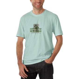 Horny Toad Activewear Wash Less T-Shirt - Short Sleeve (For Men) in Stormy Blue
