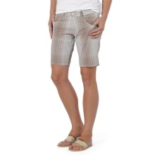 Horny Toad Birdwalk Shorts - Yarn-Dyed Cotton (For Women) in Walnut - Closeouts
