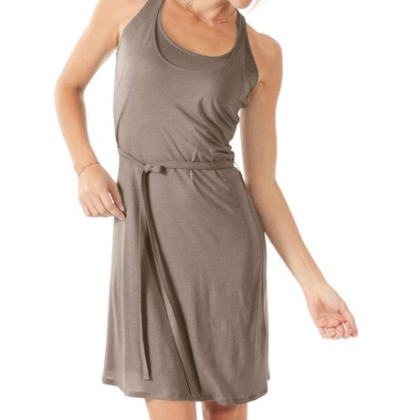 Horny Toad Bivalent Dress - TENCEL®-Linen, Sleeveless (For Women) in Walnut
