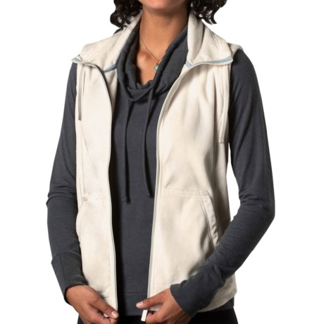 Horny Toad Blushfire Vest (For Women) in Egret