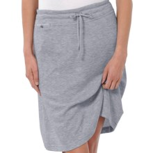 Horny Toad Boleo Skirt - Cotton-Modal (For Women) in Atlantis Heather - Closeouts