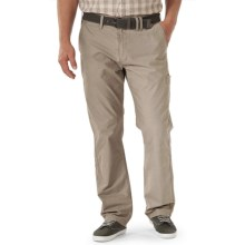 Horny Toad Chino 32 Trouser Pants - Organic Cotton (For Men) in True Khaki - Closeouts