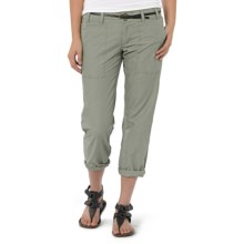 Horny Toad Cipher Capris - Cotton-TENCEL® Twill (For Women) in Camper - Closeouts