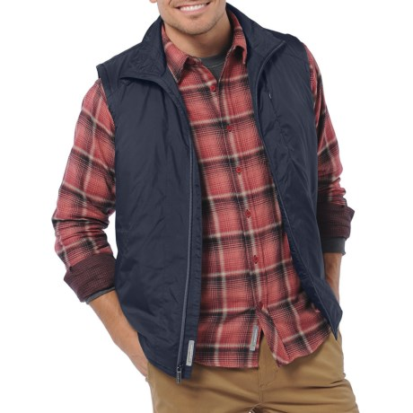 Horny Toad Cloudcover PrimaLoft® Vest, Recycled Materials (For Men) in Midnight