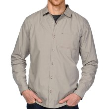 Horny Toad Double Down Shirt - Long Sleeve (For Men) in Rhino - Closeouts