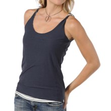 Horny Toad Double Helix Tank Top - Organic Cotton-Modal (For Women) in New Shark - Closeouts