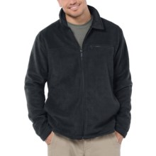 Horny Toad Downbeat Jacket - Fleece (For Men) in Black - Closeouts