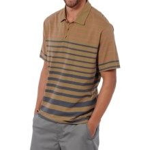 Horny Toad Foster Polo Shirt - Organic Cotton, Short Sleeve (For Men) in Honey Brown - Closeouts