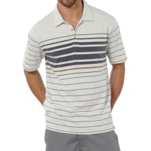 Horny Toad Foster Polo Shirt - Organic Cotton, Short Sleeve (For Men) in New Foggy - Closeouts