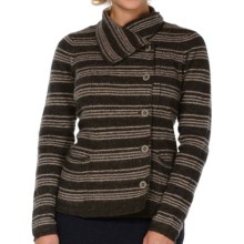 Horny Toad Heartfelt Sweater (For Women) in Clove Stripe - Closeouts
