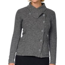 Horny Toad Heartfelt Sweater (For Women) in Smoke Heather - Closeouts