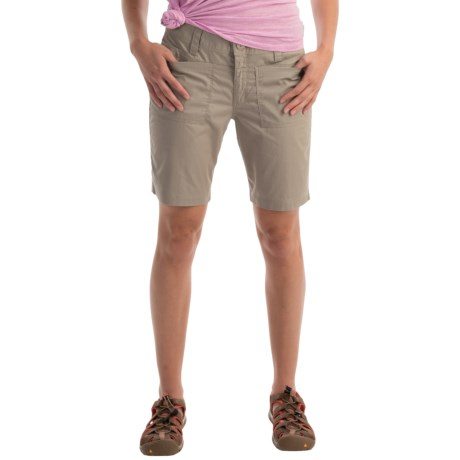 "Horny Toad Jamplay Short - Slingshot Twill, 8"" (For Women) in Rhino"
