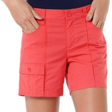 Horny Toad Jumpstart Shorts - Organic Cotton (For Women) in Watermelon - Closeouts