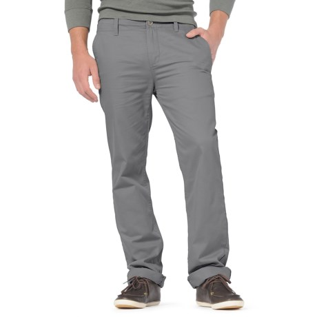 Horny Toad Kickstand Chino Pants - Organic Cotton Twill, Flat Front (For Men) in Smoke