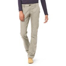 Horny Toad Kickstand Chino Pants - Organic Cotton Twill (For Women) in Rhino - Closeouts