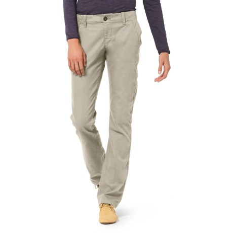 Horny Toad Kickstand Chino Pants - Organic Cotton Twill (For Women) in Rhino