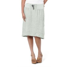 Horny Toad Lithe Skirt - Linen Chambray (For Women) in Chrome - Closeouts