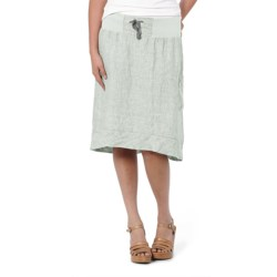 Horny Toad Lithe Skirt - Linen Chambray (For Women) in Chrome