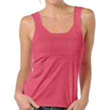 Horny Toad Malena Tank Top - Stretch TENCEL®-Organic Cotton (For Women) in Geranium - Closeouts