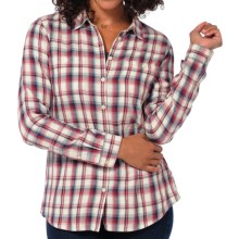 Horny Toad Mixologist Plaid Shirt - Organic Cotton, Long Sleeve (For Women) in Red Potato - Closeouts
