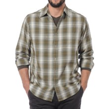 Horny Toad Mojo Flannel Shirt - Organic Cotton, Long Sleeve (For Men) in Helix - Closeouts