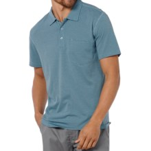Horny Toad Onrush Polo Shirt - Short Sleeve (For Men) in Adriatic Stripe - Closeouts