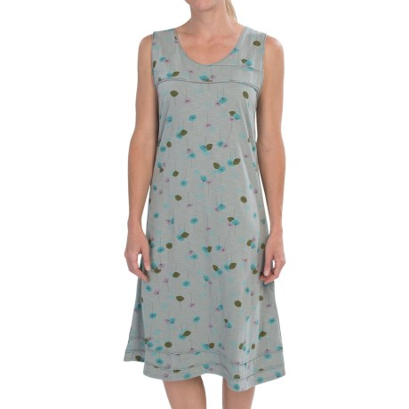 Horny Toad Oolong Stretch Dress - TENCEL®, Sleeveless (For Women) in Boulder Print