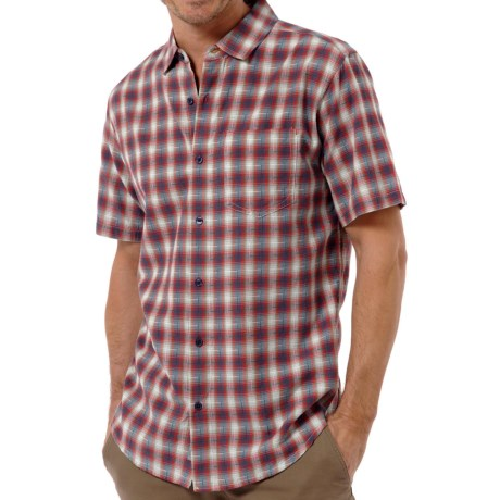 Horny Toad Open Air Shirt - Organic Cotton, Short Sleeve (For Men) in Red Wagon