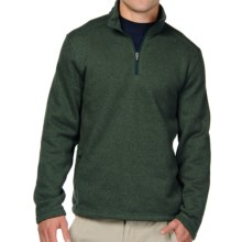 Horny Toad Override Sweater - Zip Neck (For Men) in Spruce - Closeouts