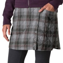 Horny Toad Quilted Birddog Skirt - Insulated (For Women) in 004 Dark Graphite - Closeouts