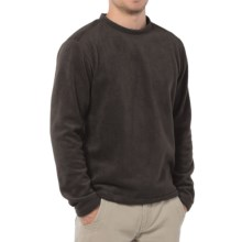 Horny Toad Recrewser Fleece Sweatshirt (Men) in Licorice - Closeouts