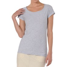 Horny Toad Ridley Organic Cotton-Modal Shirt - Short Sleeve (For Women) in Atlantis Heather - Closeouts