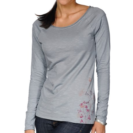 Horny Toad Rollick T-Shirt - Organic Cotton, Long Sleeve (For Women) in Boulder