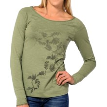 Horny Toad Rollick T-Shirt - Organic Cotton, Long Sleeve (For Women) in Caper - Closeouts