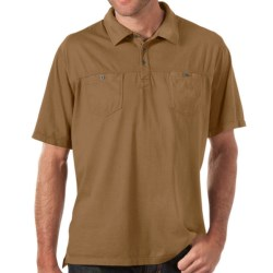 Horny Toad Smooth Polo Shirt - Short Sleeve (For Men) in Foggy