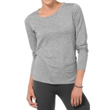 Horny Toad Swifty Pocket T-Shirt - Recycled Materials, Long Sleeve (For Women) in Charcoal Heather - Closeouts