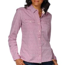 Horny Toad Wellfleet Shirt - Organic Cotton, Long Sleeve (For Women) in Deep Ruby - Closeouts