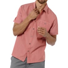 Horny Toad Wily Shirt - Button Up, Short Sleeve (For Men) in Mineral Red - Closeouts