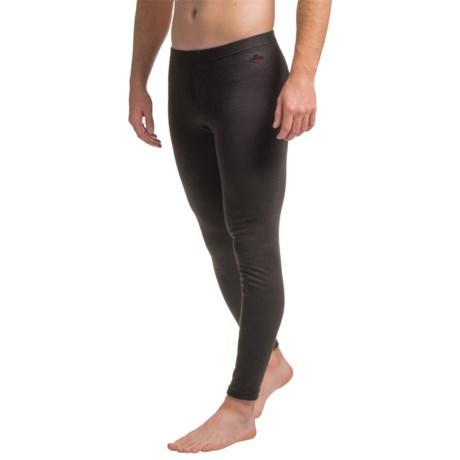 Hot Chillys Alpaca Blend Base Layer Pants (For Men) in Black
