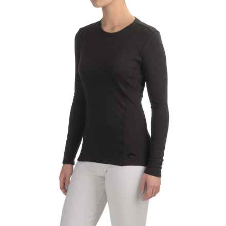 Hot Chillys Alpaca Blend Base Layer Top - Long Sleeve (For Women) in Black - Closeouts