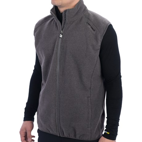 Hot Chillys Baja Vest (For Men) in Charcoal
