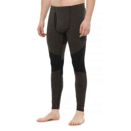 Hot Chillys Factor 8 8K Fly Base Layer Pants - UPF 40+, Merino Wool (For Men) in Black/Black - Closeouts