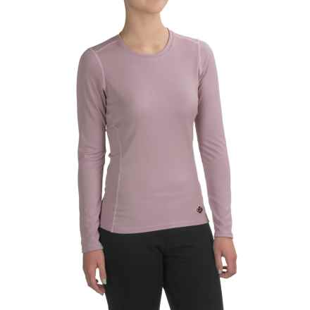 Hot Chillys Geo-Pro Base Layer Top - UPF 30+, Long Sleeve (For Women) in Pink - Closeouts