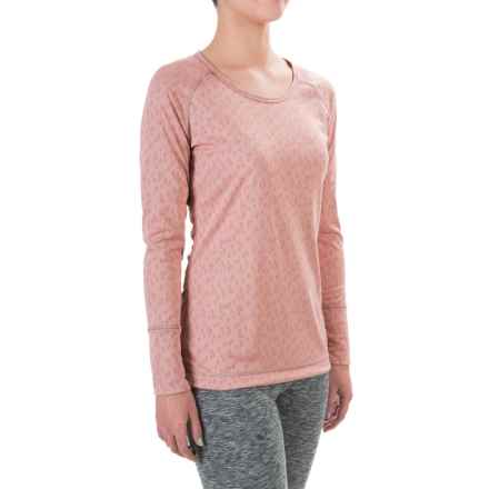 Hot Chillys Geo-Pro Base Layer Top - UPF 30+, Midweight, Scoop Neck, Long Sleeve (For Women) in Cameo - Closeouts