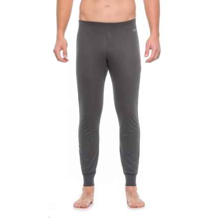 Hot Chillys Geo-Pro Fly Base Layer Bottoms - UPF 30+, Midweight (For Men) in Black Heather - Closeouts